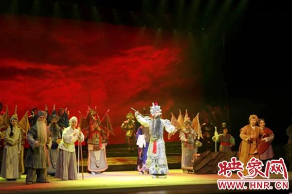 漯河市大型沙河调历史剧《郾城大捷》参加第十五届省戏剧大赛