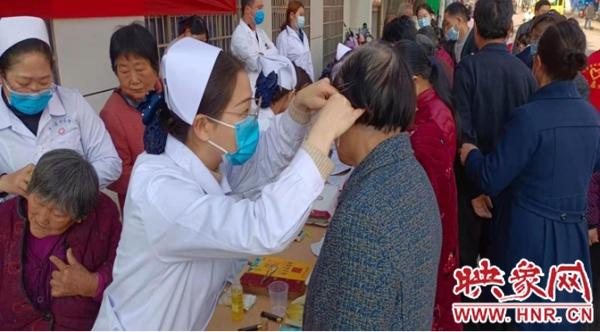 点赞!信阳罗山:文明实践惠民生 健康宣教进社区