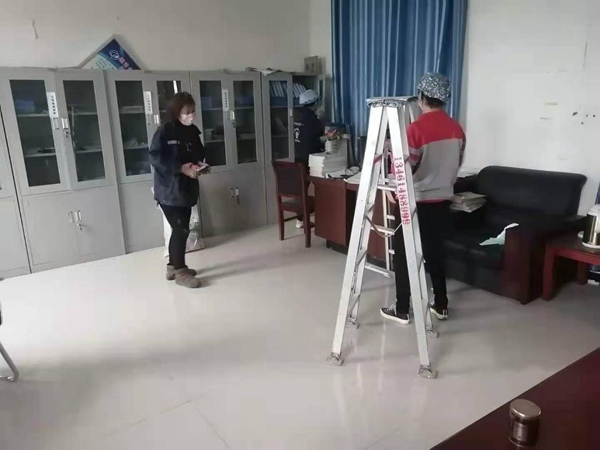"""展新貌 亮新颜 新蔡县李桥镇政府组织""""清洁家园""""活动"""