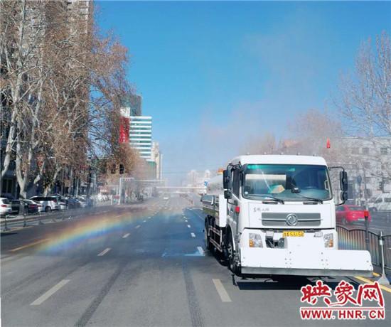 """郑州市管城区城管系统多措并举开展""""爱国卫生月""""环境卫生整治活动"""