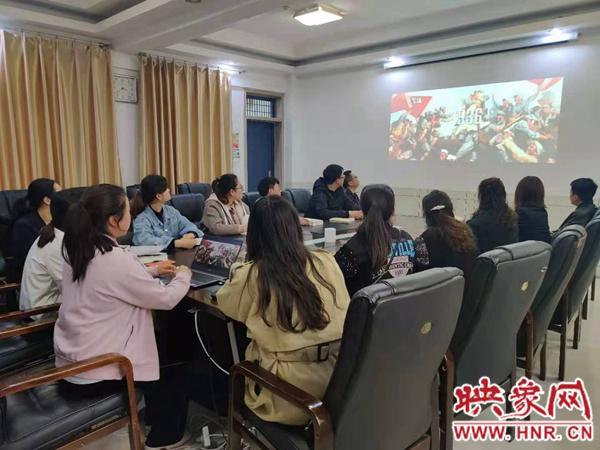 """国网汝南县供电公司开展""""学党史、强信念、勇担当""""读书会活动"""