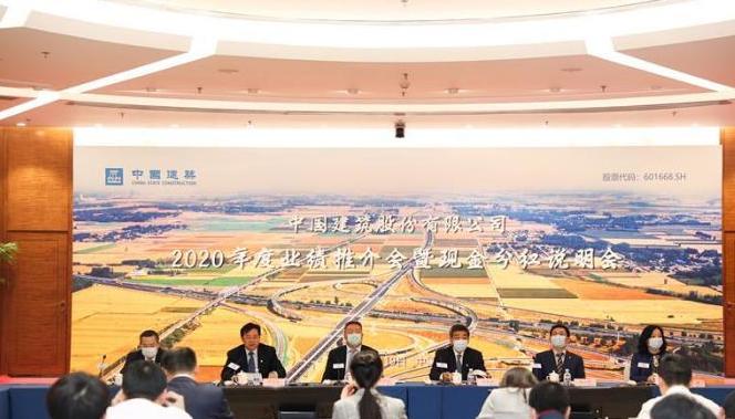 """中国建筑业绩再创新高,奠定""""十四五""""高质量开局"""