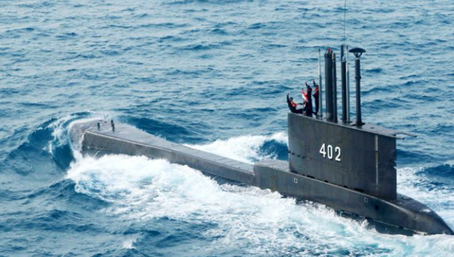 印尼潜艇失联:1981年服役,德国制造,载有53人