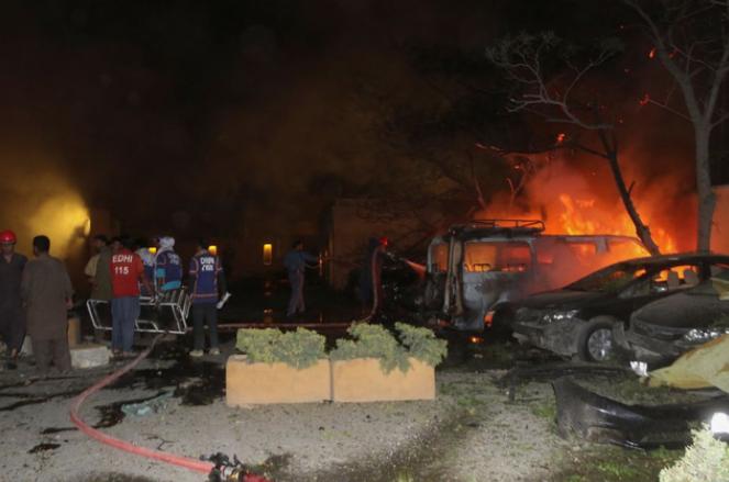 巴基斯坦酒店爆炸致4死,巴部长:中国大使入住酒店,事发时外出