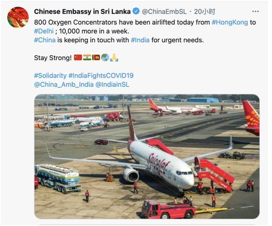 以德报怨!中国800台制氧机运抵印度,印度网友:感谢中国