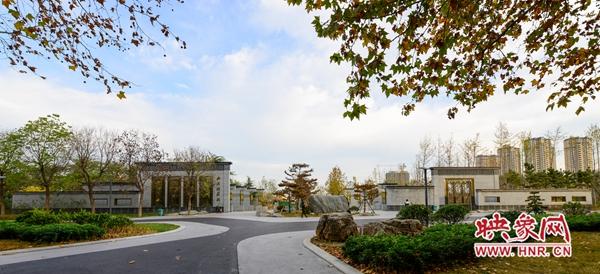 三年打造华丽蝶变 郑州市西流湖公园今日正式对外开放