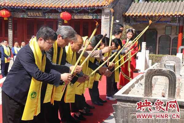 辛丑年颛顼帝喾陵祭祖节开幕