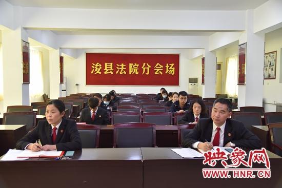 浚县法院:学习身边先进典型 弘扬英模精神