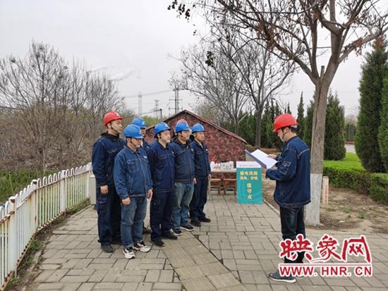 河南富达输电公司日夜巡护 力保郑西高铁可靠供电