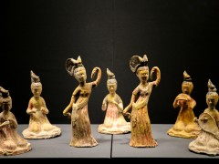 280件乐舞文物诉说河南千年厚重文化