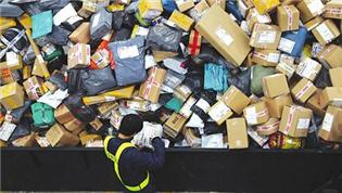将建快递业限制过度包装行业标准