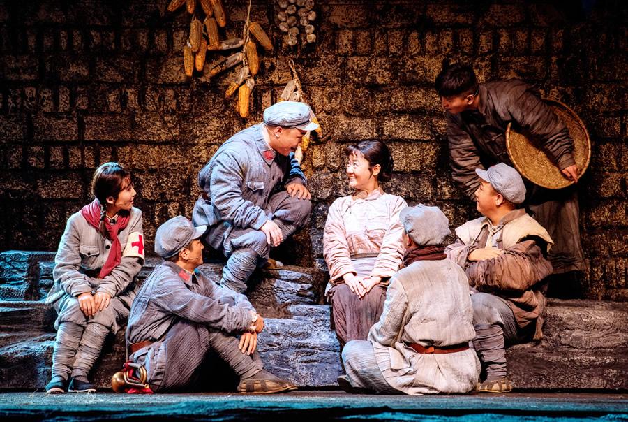 5月16日起民族歌剧《银杏树下》亮相河南艺术中心大剧院