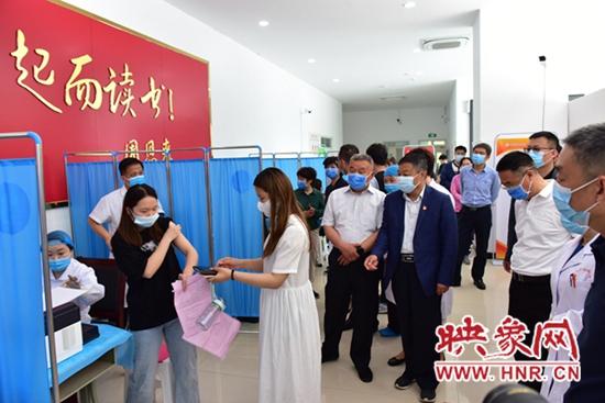 河南护理职业学院启动新冠疫苗接种工作