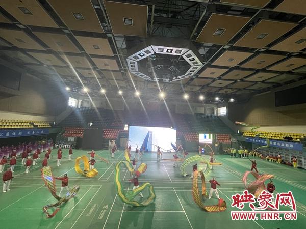 安阳市第十四届老年人体育健身大会开幕 设12大项52小项