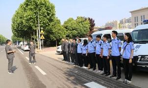 许昌市建安区法院开展夏季集中执行行动