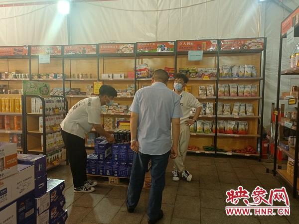 """""""郑欧班列进口商品进县区""""巡展活动走进固始"""