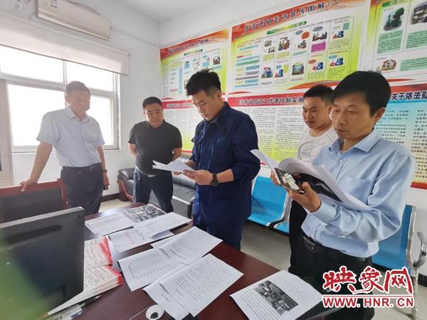 平舆县老王岗乡:检查消防安全设施 强化风险防控意识