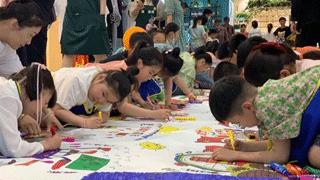 固始:童心共绘中国梦