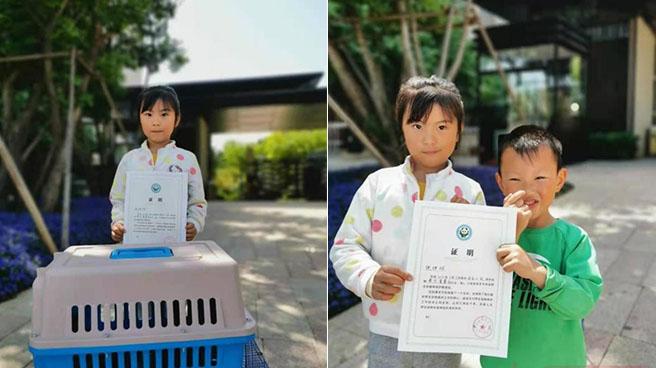 郑州7岁小学生智救五只二级保护动物