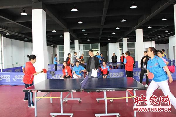 商丘市第一人民医院举办第十七届职工乒乓球比赛