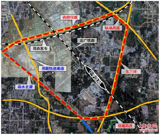 联播PRO:郑州将新建一座大型火车站