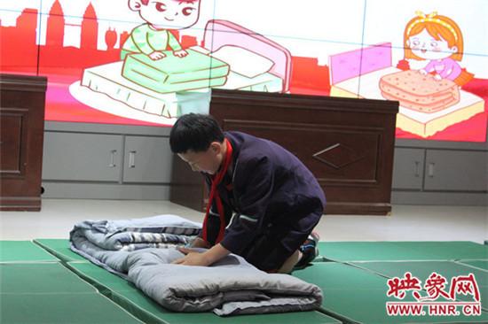 郑州市二七区培育小学开展第一届劳动技能大赛