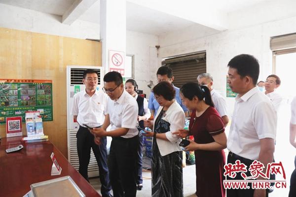 省市县领导到西平农商银行移动便民场景应用现场调研