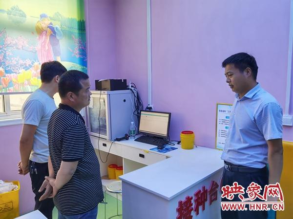 平舆县杨埠镇有序推进新冠疫苗接种工作