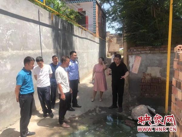 """惠民!汝州西西社区:修建下水道 打通干群""""连心桥"""