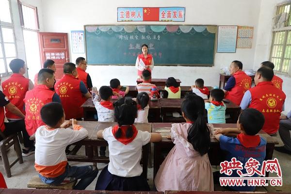 这个六一 商城县吴河乡的孩子这样过节