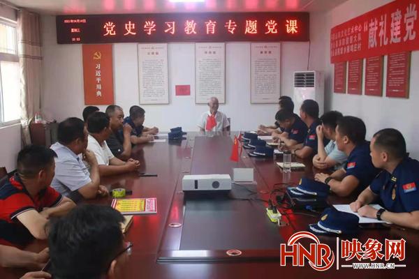 鲁山县雁鸣庄村:献礼建党百年 助力乡村振兴