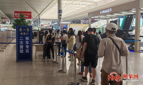 """6月21日起 郑州站对赴京旅客实行""""二次安检"""""""