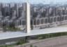 信阳跨京广铁路斜拉桥转体成功