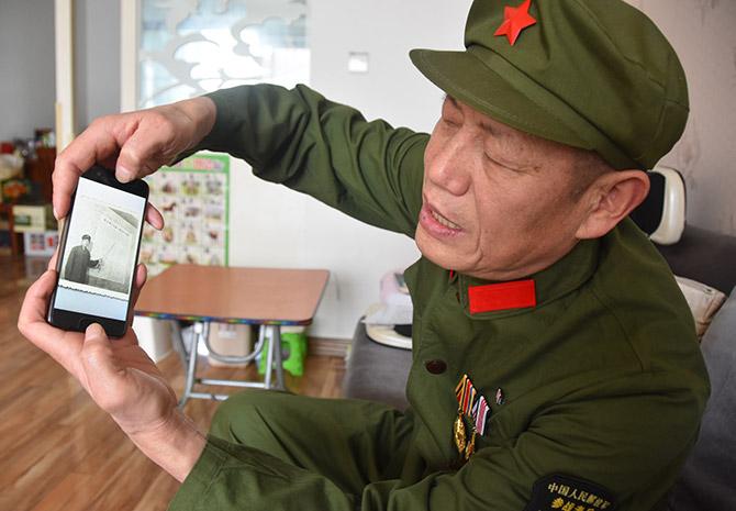 刘银定:战友英勇事迹激励前行 传承红色基因牢记心中