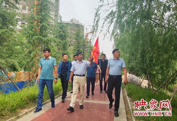 市民考察团点赞杞县环城水系治理