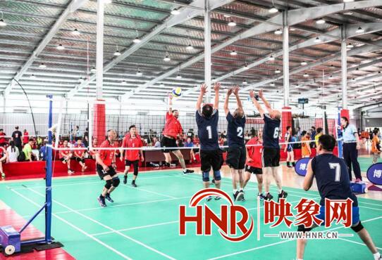 """""""我要上全运""""河南省气排球选拔赛来了 400余名高手现身切磋"""