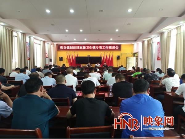 鲁山县张良镇:争创国家卫生乡镇 推进乡村振兴步伐