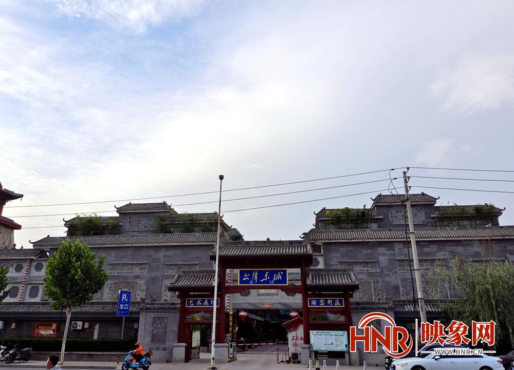 郑州文博城十多年违建安全隐患多 办事处:历史遗留问题