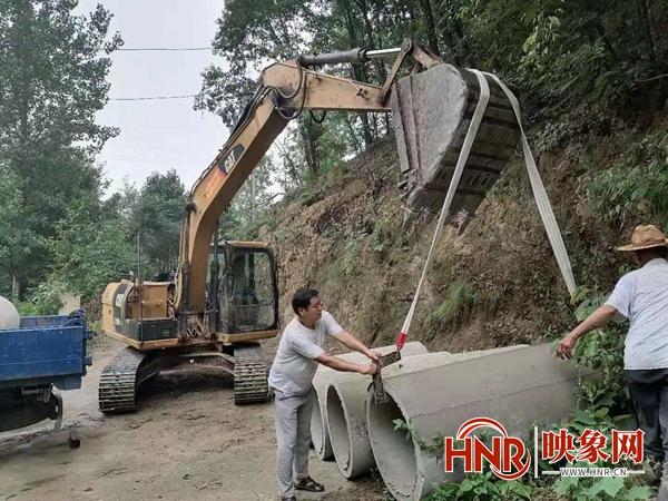 """鲁山县团城乡:助力乡村振兴 铺就一条""""小康路"""""""