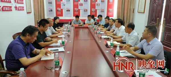 河南省农业农村厅调研组到商丘市调研棉花产业发展工作