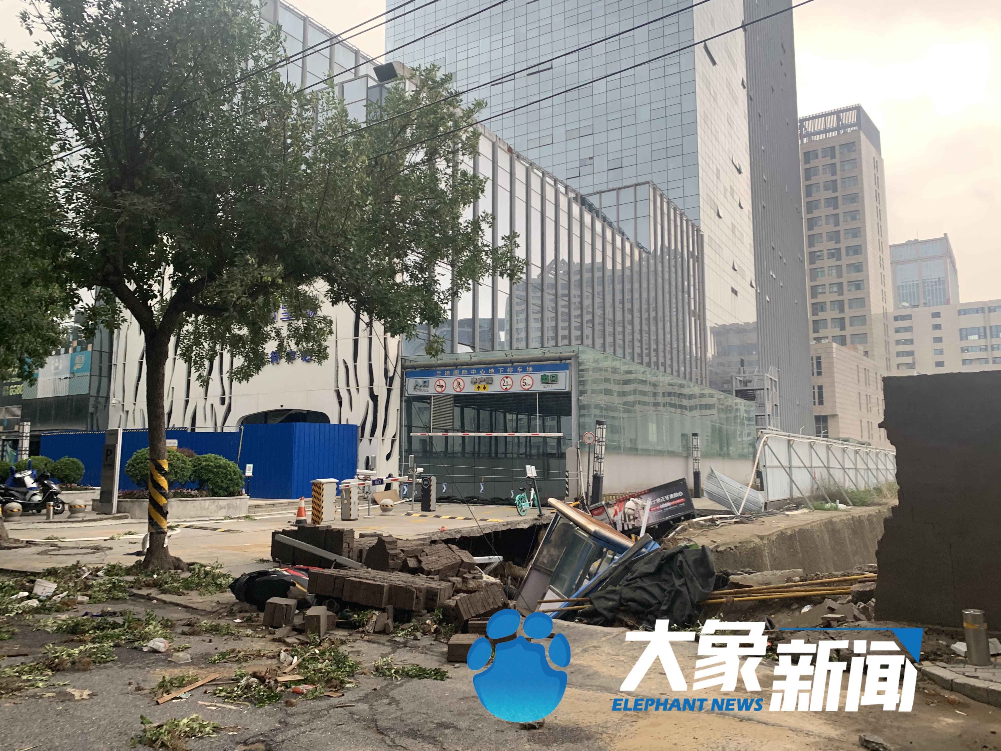 真相来了!网传郑州市花园路丰产路大面积塌陷?记者实地探访