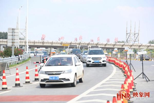 京港澳高速公路郑州新区收费站全站双向正常通行