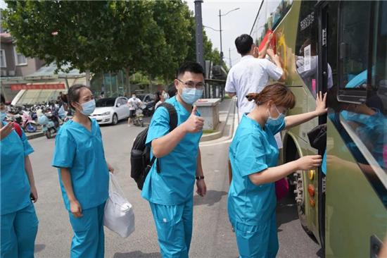 郑州大学五附院再出发 支援二七区重点人群核酸检测