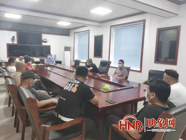 新蔡县棠村镇召开营运车辆疫情防控工作会