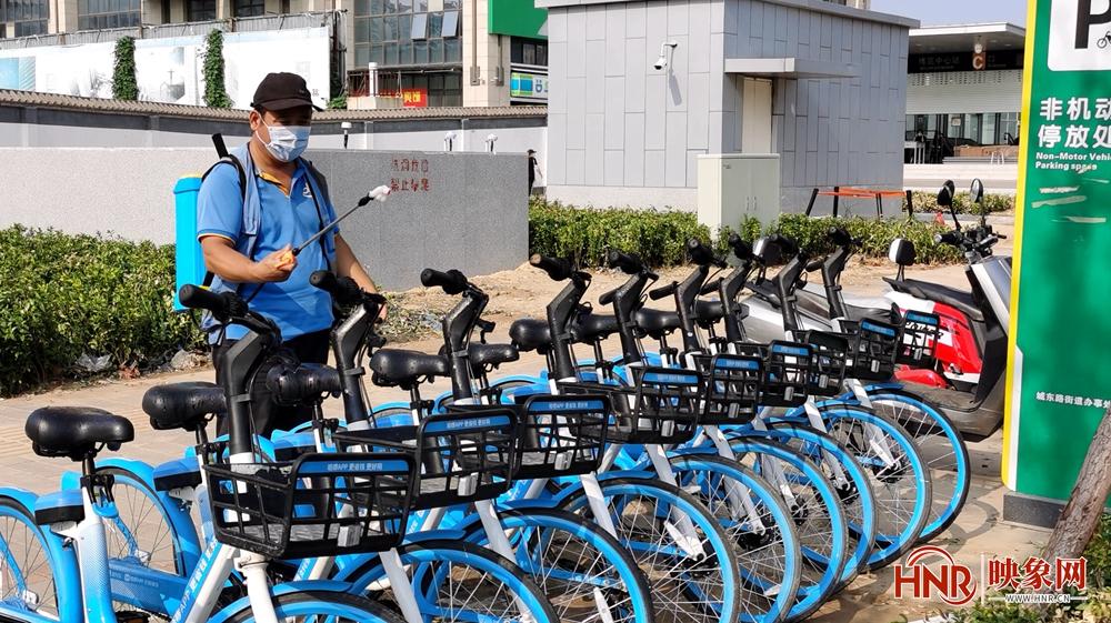 好消息!郑州市区共享单车将免费骑行至8月28日