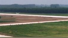 8月24日,河南民权通航机场飞机成功试飞
