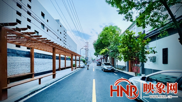 郏县龙山街道:道不尽幸福里居民新生活