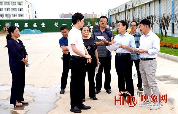 驻马店泌阳:协调解决企业难题 助推项目高质量发展
