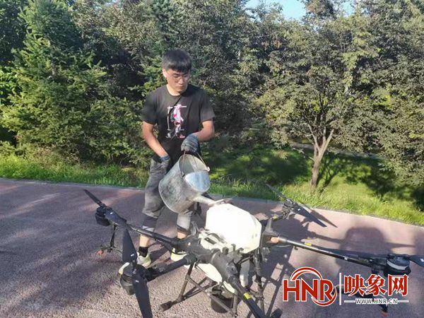 许昌市:加大林木病虫害防治 打造安全优美城市环境