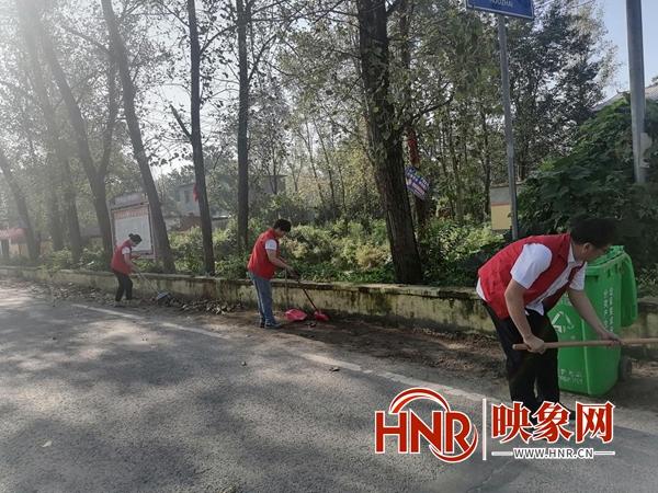 平舆县双庙乡:践行志愿服务活动 助推文明城市创建